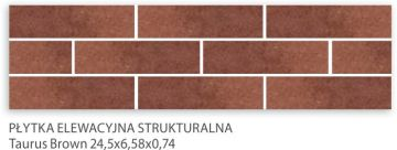Taurus Brown 24,5x6,58x0,74